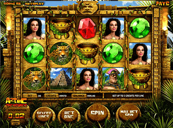 Aztec Treasures 3D 3